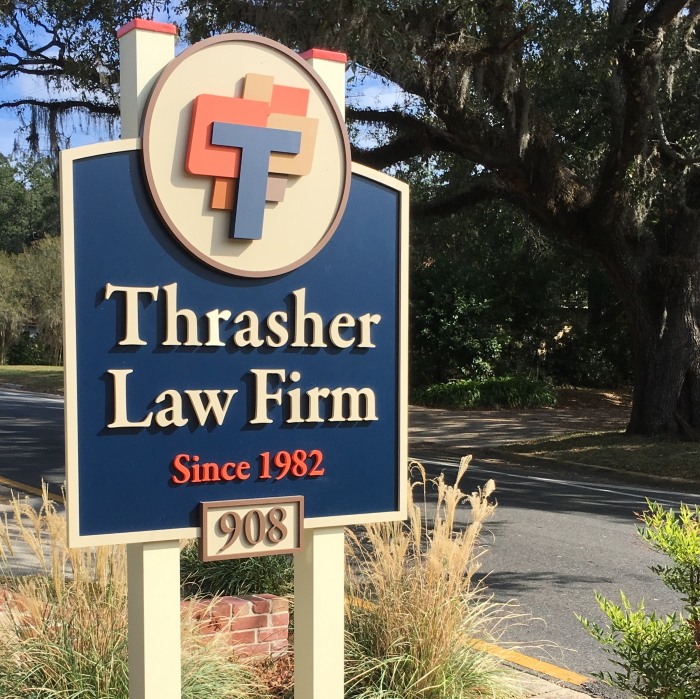 Law Firm Sign
